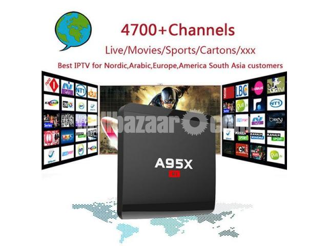A95X R1 Smart Android 7.1.2 TV Box - 4/5