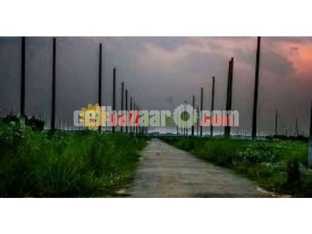Rajuk Purbachal 22 Sector Plot 3 Katha Plot - 1/3