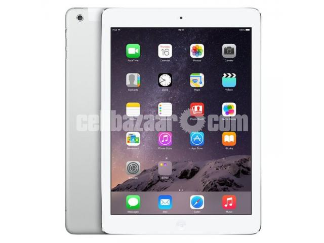 """Apple iPad Air 2 9.7"""" 64GB Cellular + WiFi Tablet - White & Silver - 1/1"""