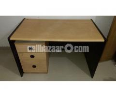Big size OTOBI Study table with side drawer