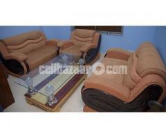 Sofa Set 2+2+1 Kala Koroi (Lebbeck Wood)