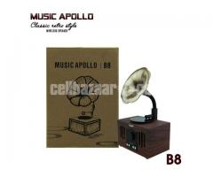 MUSIC APOLLO B8 Classic retro style Wireless Speaker