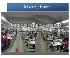 30Line woven Garments Factory Sale.