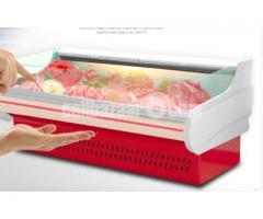 Fish meat display