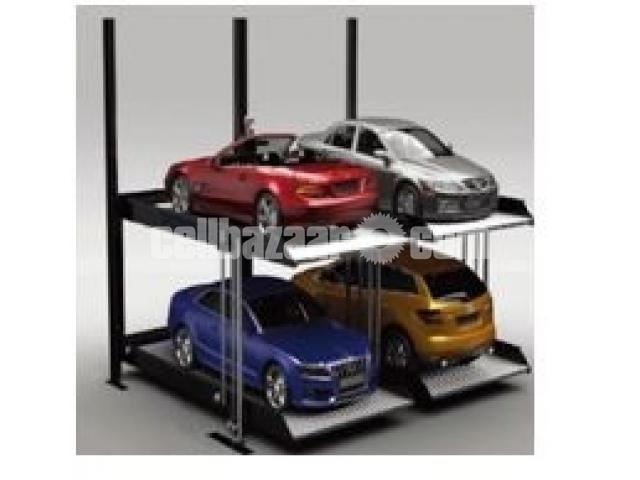 Automated Car parking Lift - 3/4