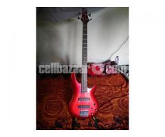 Active Bass Guitar