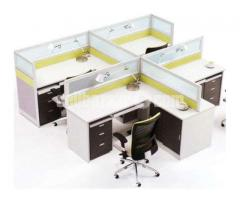 Work Station (Fabric Partition)05