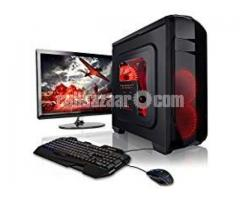 "Gaming _PC-CORE I7 8th 8GB 1TB 19""LED Dell"