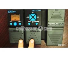 zoom g1xon Guitar Processor