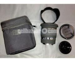 Sigma 20mm f/1.8 EX DG Wide Angel Lens