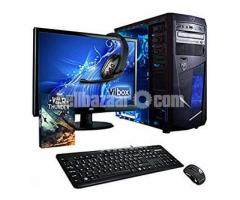 "Core i3 7th gen 4GB RAM 500GB HDD 17""LED"