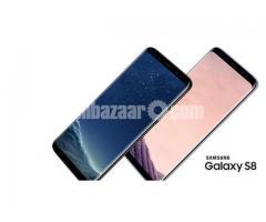 "Samsung Galaxy S8 64GB ROM 4GB RAM 5.8"" Iris Scanner Mobile"