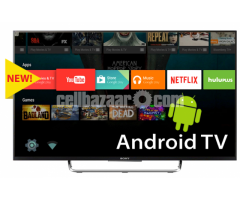 """Sony Bravia W800C 43"""" Wi-Fi FHD Smart 3D LED Android TV"""
