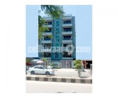 110' Rd 5 Katha Land 6 Storied Commercial Building North@Sector-14