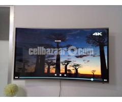 """Samsung Curve 50"""" Android Smart TV"""