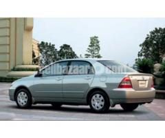 Toyota Corolla X 2002 model for sale