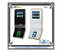 Zkteco Ultra thin time attendance and access control terminal F22 (Wifi)