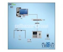 ZKTeco Access Control with Time Attendance K40