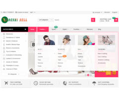 Deshisell.com magento eCommerce website sale