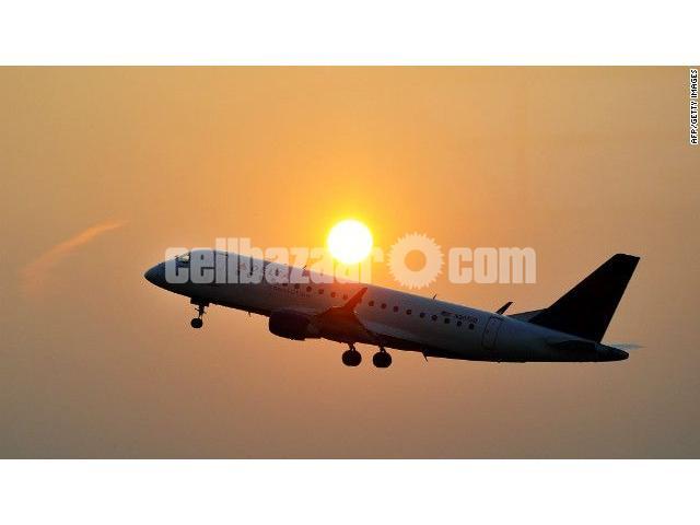 Dhaka to Kigali Flight Ticket - 1/1