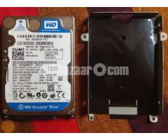 WD 250 GB LAPTOP HDD+2 GB RAM