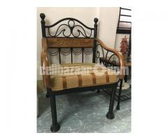Iron wood Sofa