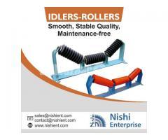Conveyor Idler Roller Manufacturer Supplier and Exporter