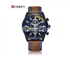 WW0066 Original Curren Chronograph Belt Watch 8292