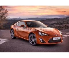 Toyota GT86 Orange (Pre Order)