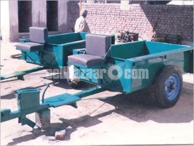 Power Tiller Trolley - 3/3