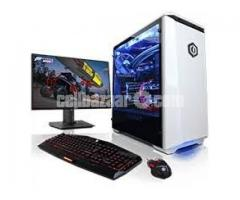 """Student offer! Core 2 duo pc with 17"""" Led"""