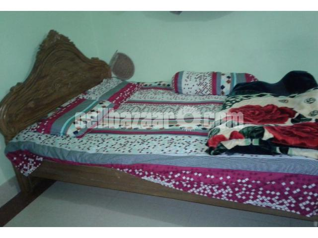 Double bed khat for sale. - 1/2