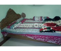 Double bed khat for sale. - Image 1/2