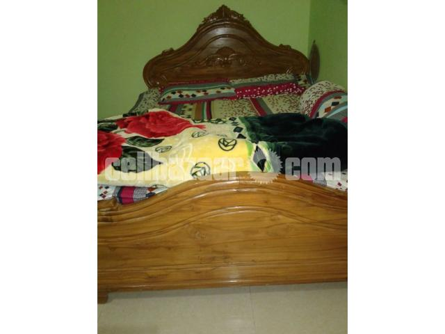 Double bed khat for sale. - 2/2