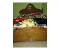 Double bed khat for sale. - Image 2/2