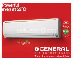 O'GENERAL 1.5 TON SPLIT TYPE AC