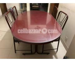 Dining Table with 04 chair Navana.. Urgent Sale