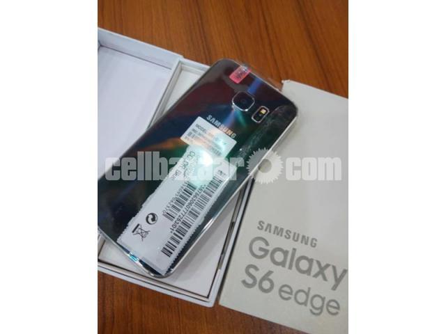 Samsung S6 edge RAM 3GB 32GB INTACT BOX - 4/5