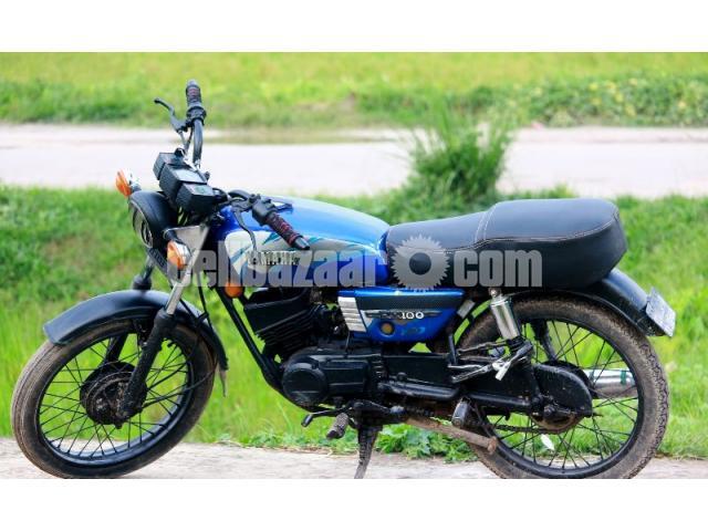 Yamaha rx modified