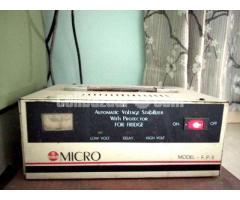 Fridge (Free Voltage Stabilizer)