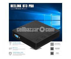 Beelink BT3 Pro Mini PC 4GB/32GB Intel Atom x5-Z8350 Processor 1000Mbps LAN WiFi 2.4/5.8G BT 4.0 Dua