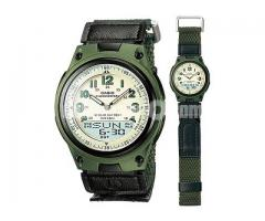 WW0398 Original Casio Youth Dual Time Watch AW-80V-3BV