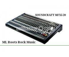 Soundcraft MFXi-20 New condition