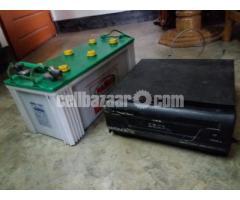 IPS 600VA With battery Hamko 165 A /H.