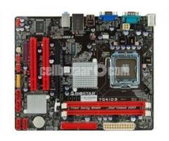 MB G-41 DDR3 4GB Ram 640GB HDD