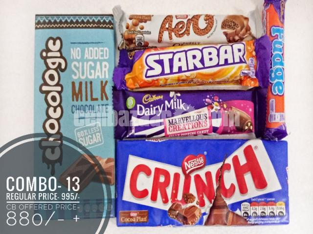 Combo-13 (uk chocolate collections) - 1/1