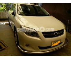 Toyota Fielder 2012 for corporate rent