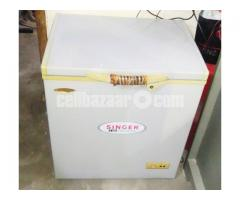 singer chest freezer 138 liter