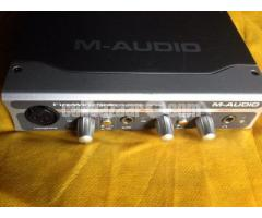 M-Audio firewire solo sound card