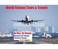 No Visa- No Charge!!